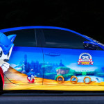 Special Edition Sonic the Hedgehog Honda Civic