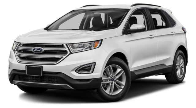 2017 Ford Edge White