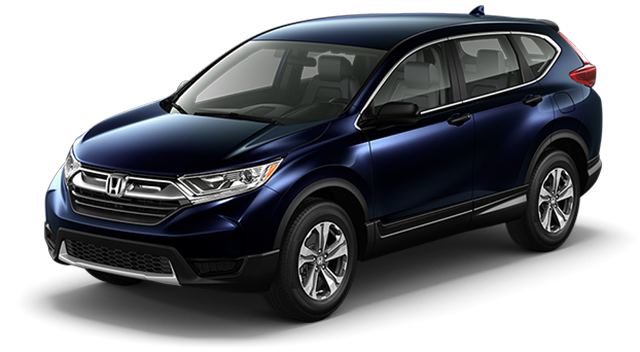 Blue Honda CR-V