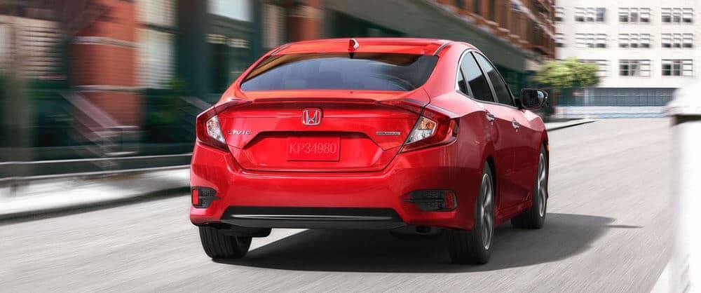 2017 Honda Civic Rear
