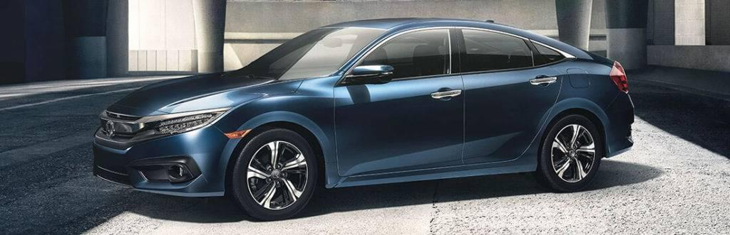 2017 Honda Civic Blue