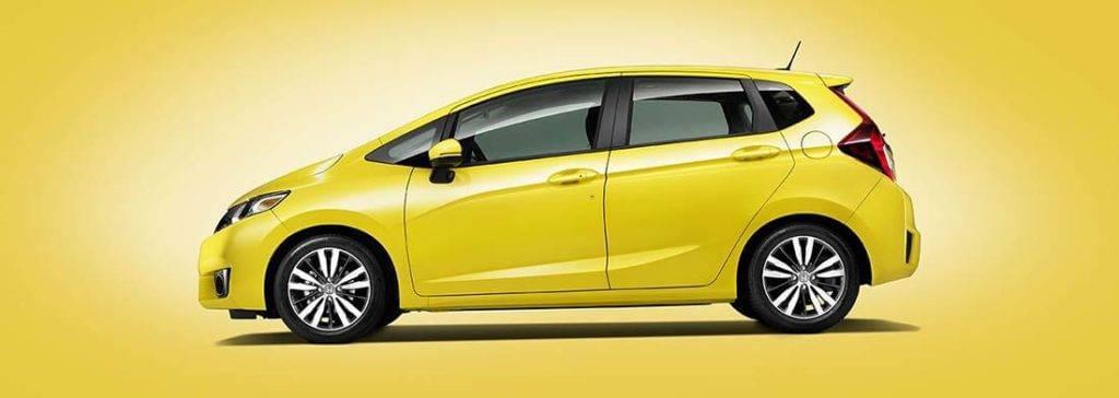 2017 Honda Fit Yellow