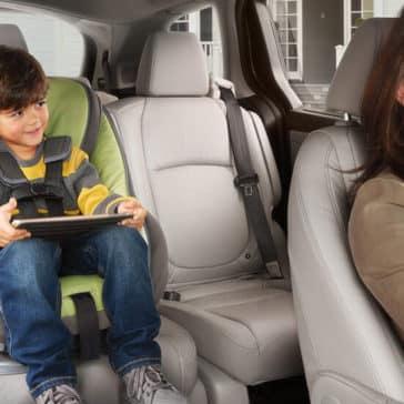 2018 Honda Odyssey Toddler