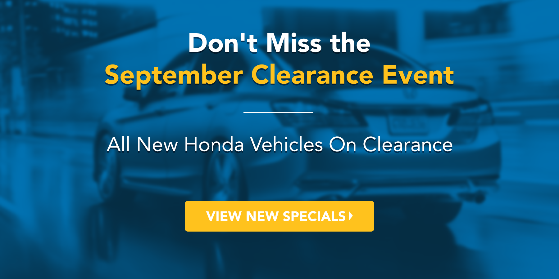september clearance event