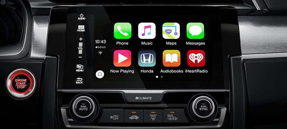2018 Honda Civic Connectivity