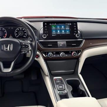 2018 Honda Accord Dash