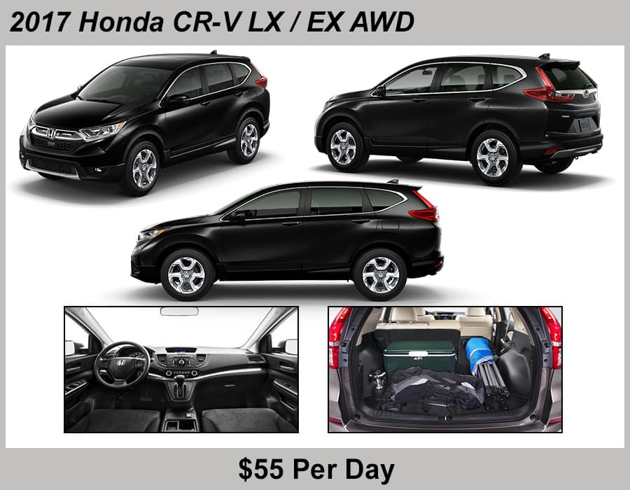 Tamaroff Honda 2017 CRV Rental