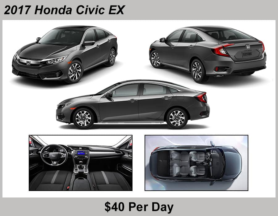 Tamaroff Honda 2017 Civic Rental