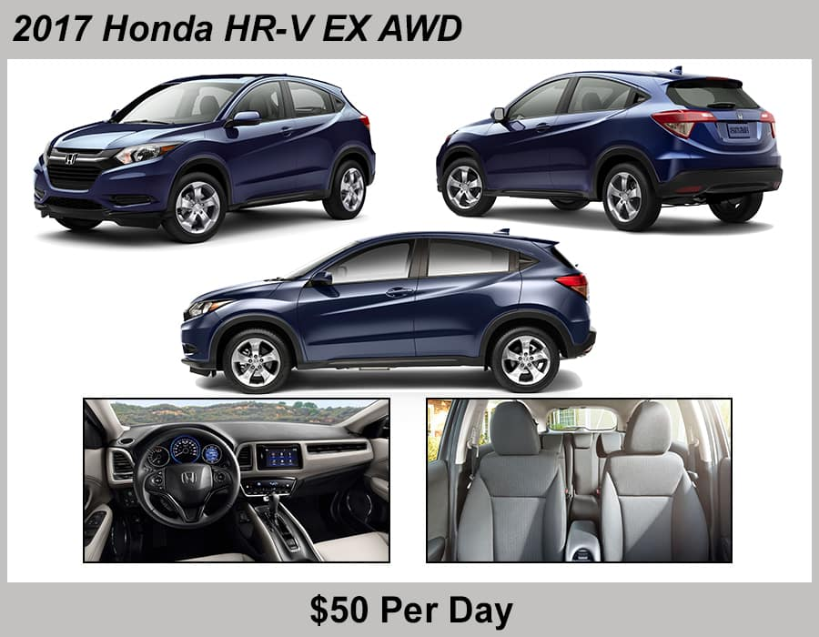 Tamaroff Honda 2017 HRV Rental