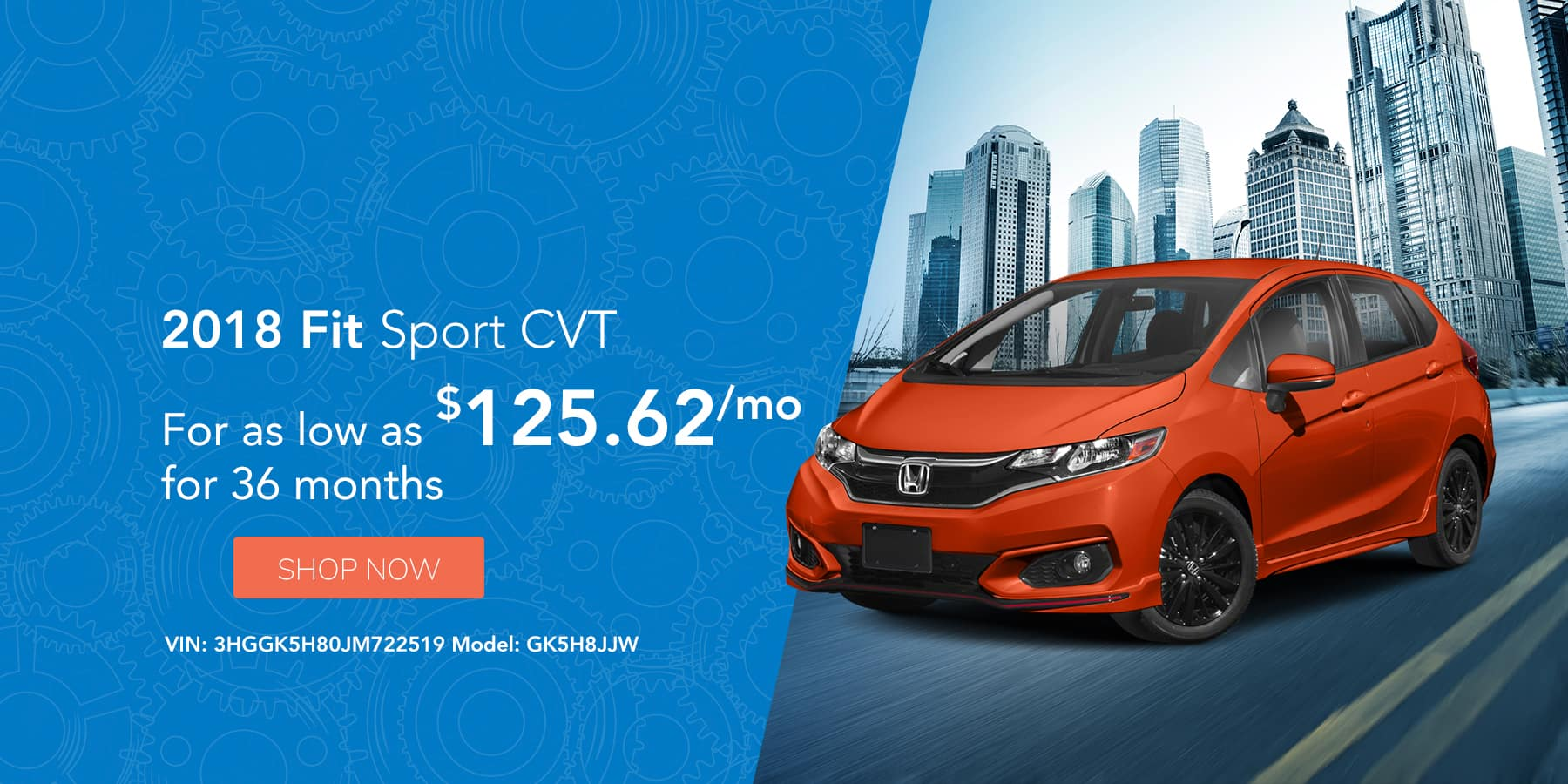 Honda Fit Offer