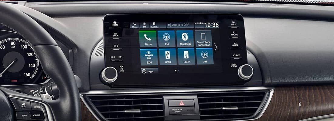 2018 Honda Accord Touchscreen