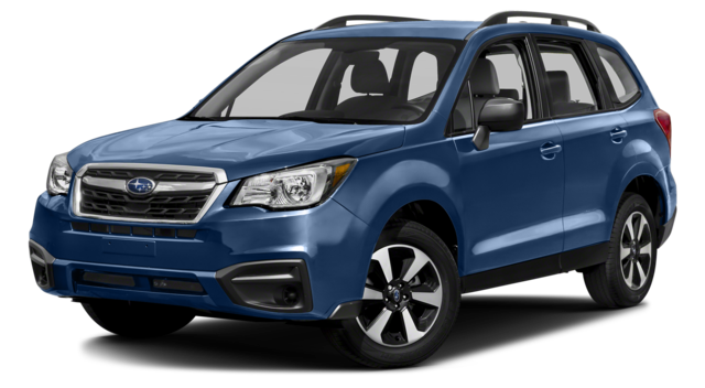 2018 Subaru Forester Blue