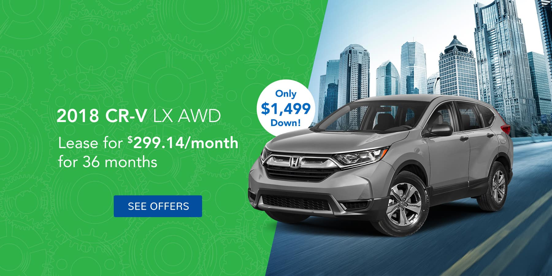 CRV Homepage Offer April
