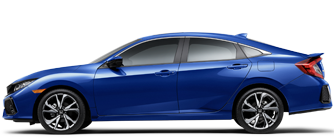 Honda Civic Sedan Blue