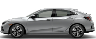 Honda Civic Hatchback Silver