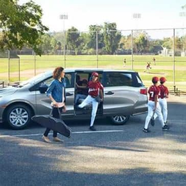 2019 Honda Odyssey With Little League