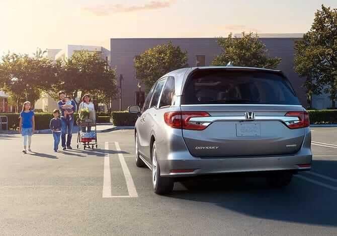 2019 Honda Odyssey With Family