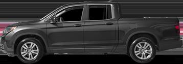 Black Honda Ridgeline