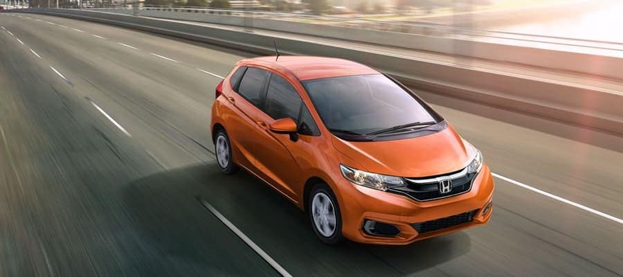 2019 Honda Fit Driving