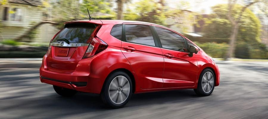 2019 Honda Fit Red