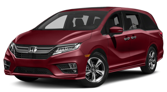 2019 Honda Odyssey Red