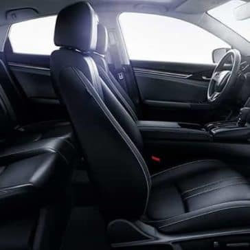 interior cabin of 2019 Honda Civic