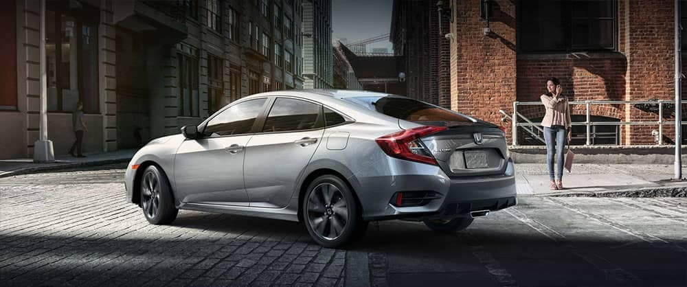 rear exterior of 2019 Honda Civic