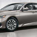 2019 Honda Accord Hybrid in Silver.
