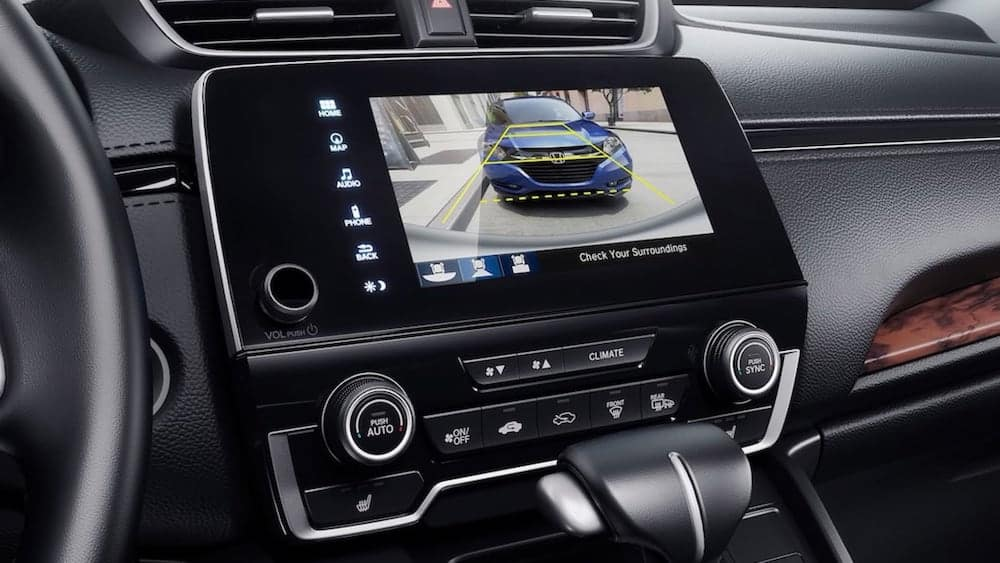 2019 CR-V rearview camera