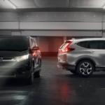 2019 CR-V Models parked
