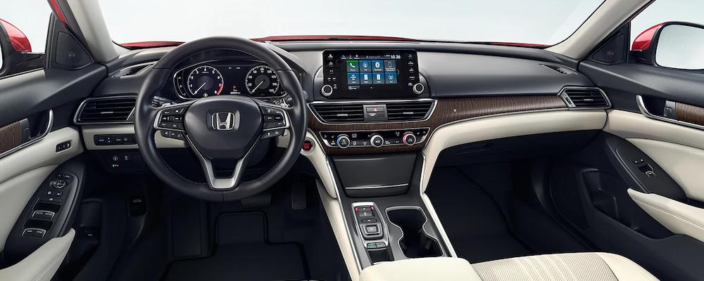 2020 Honda Accord dashboard