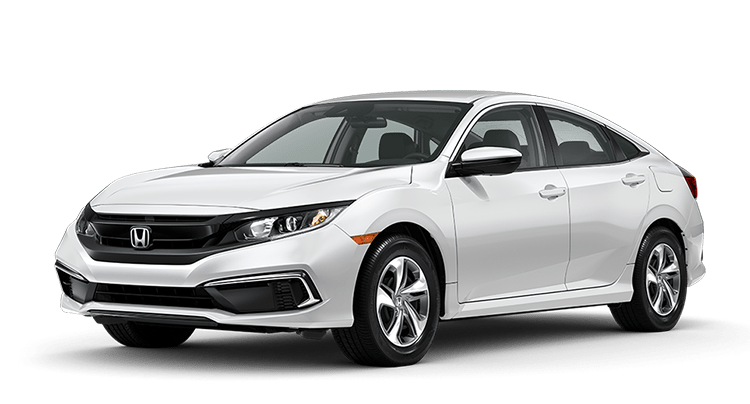 2020 Honda Civic White