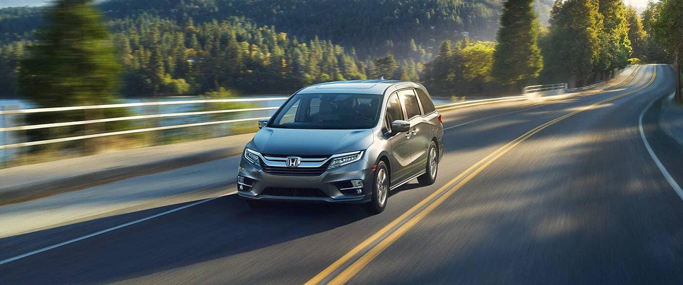 2020 Honda Odyssey Driving