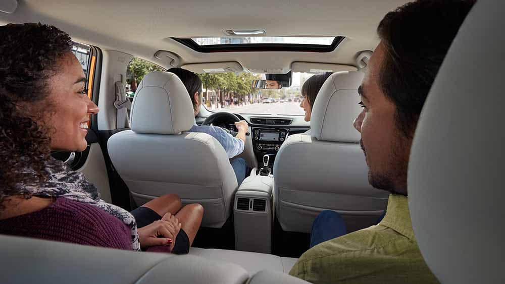 2017 Nissan Rogue Sport Passengers
