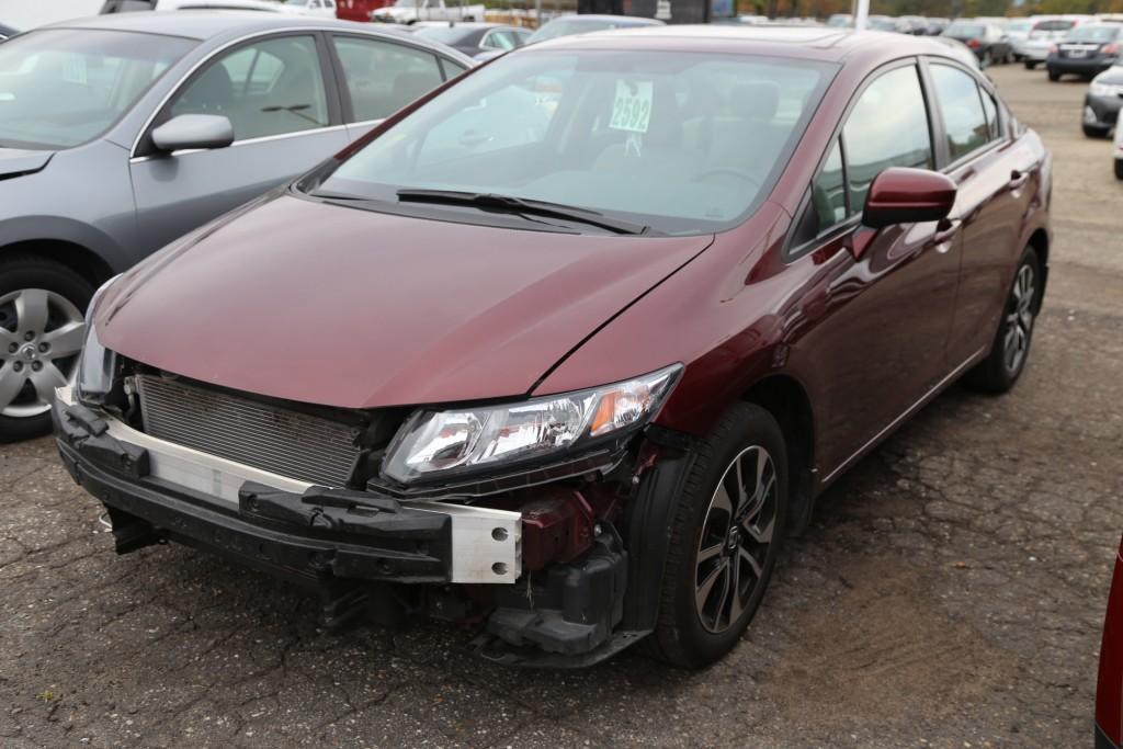 Honda Collision Repairs - Before 1