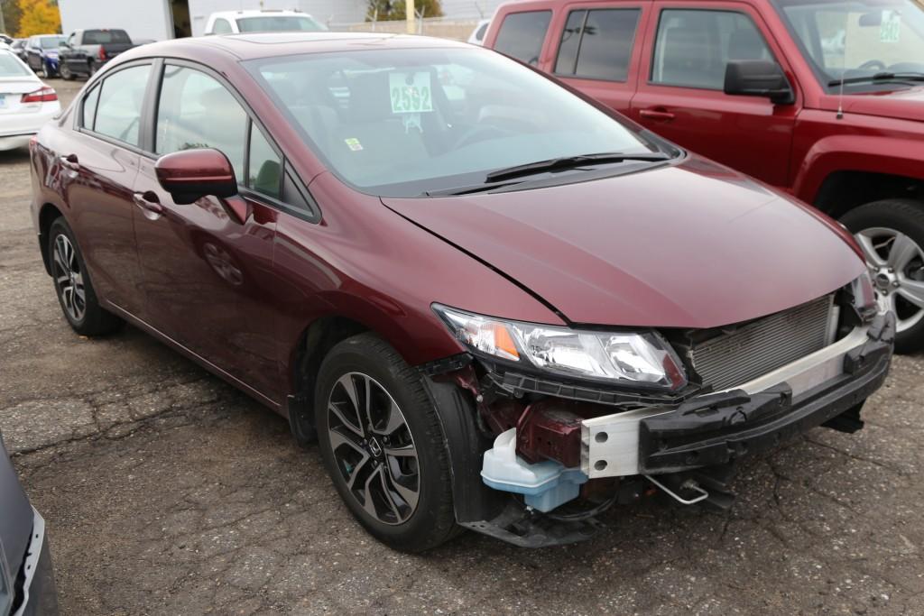 Honda Collision Repairs - Before 2