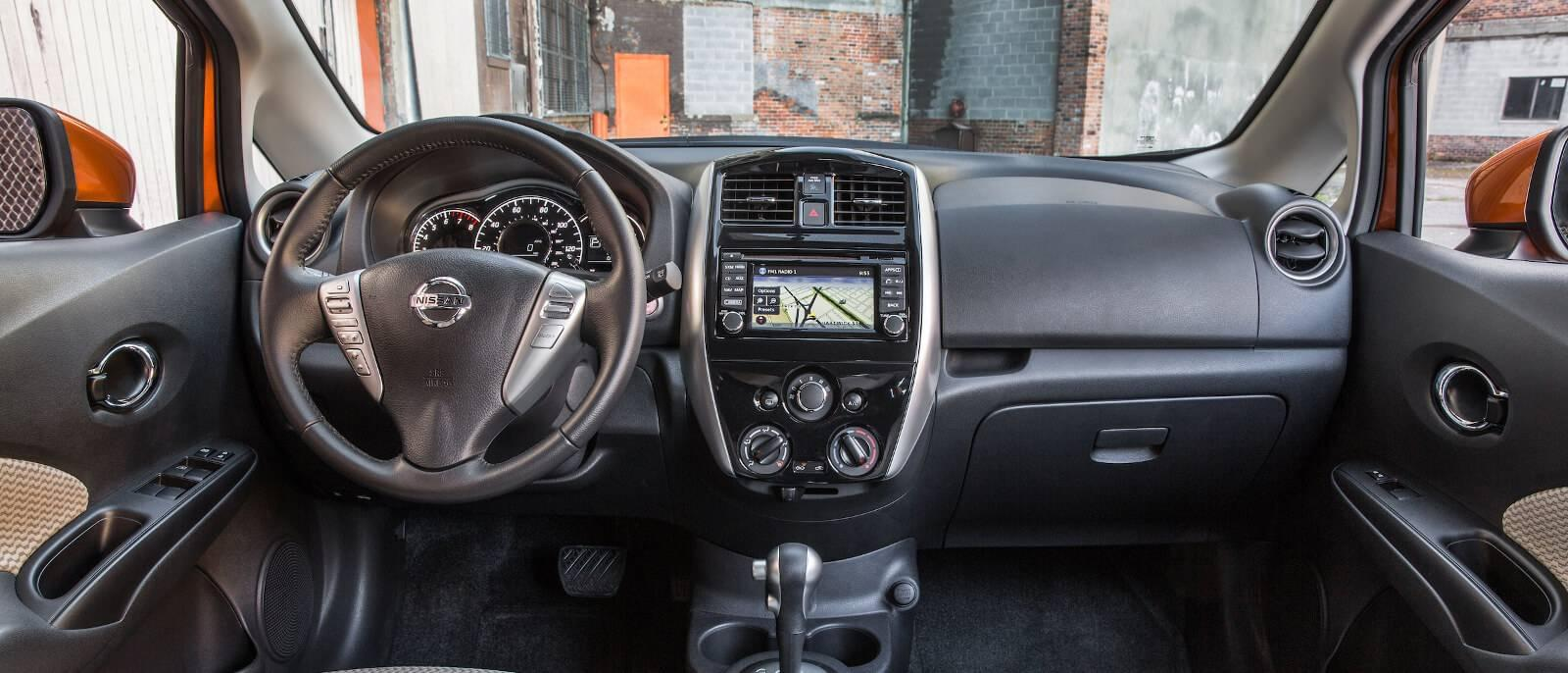 The 2017 nissan versa note awaits detroit at tamaroff nissan for Nissan versa note interior dimensions