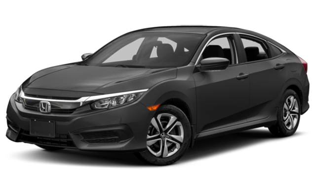 Sentra. 2017 Honda Civic Black