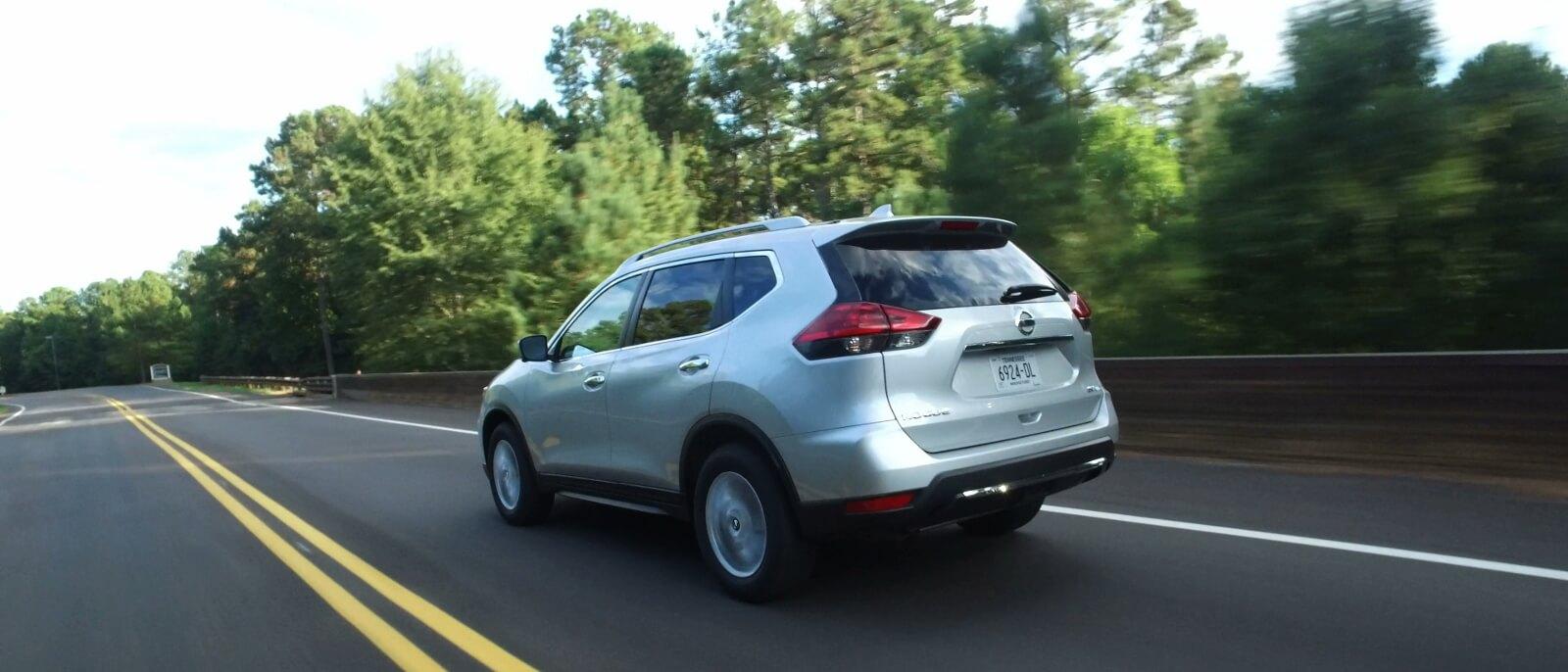 2017 Nissan Rogue rear exterior