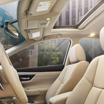 2017 Nissan Altima Seats