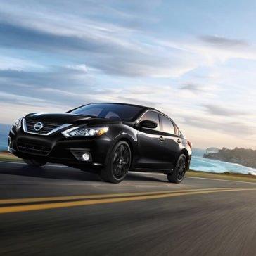 2017 Nissan Altima Driving
