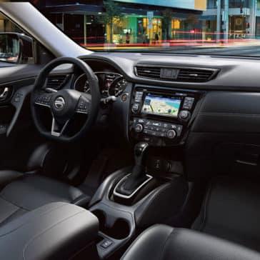 2017 Nissan Rogue Dash