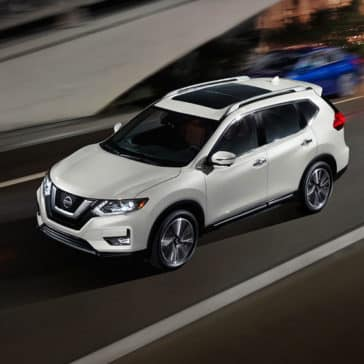 2017 Nissan Rogue Driving
