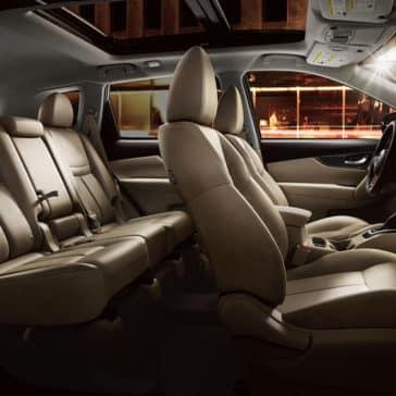 2017 Nissan Rogue Seats