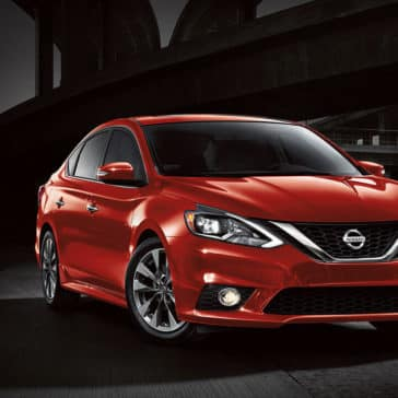 2017 Nissan Sentra Red