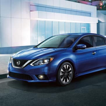 2017 Nissan Sentra Blue