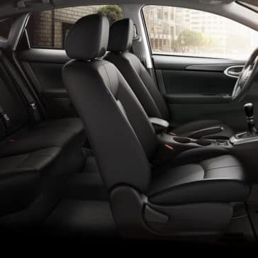 2017 Nissan Sentra Black Seats