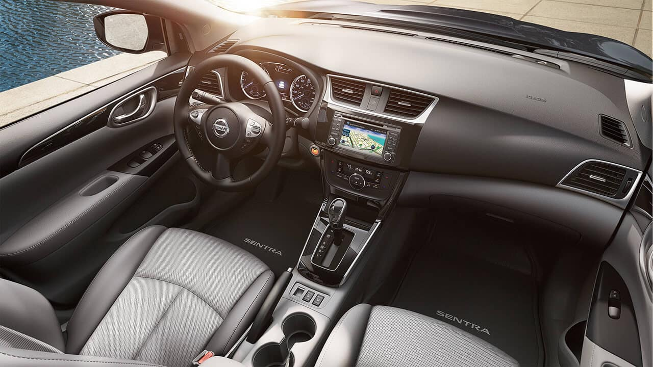 2017 Nissan Sentra Cabin