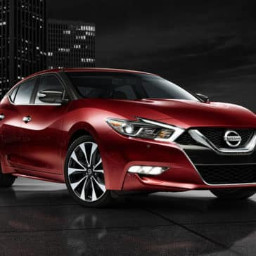 2017 Nissan Maxima Red