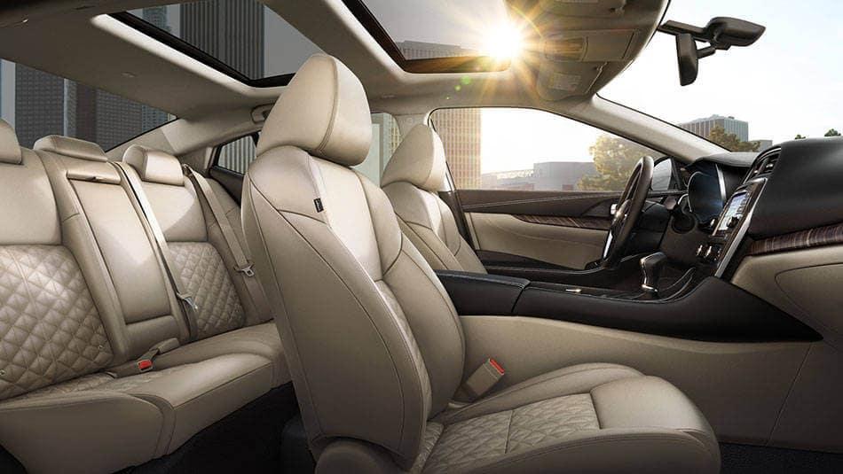 2017 Nissan Maxima Seats